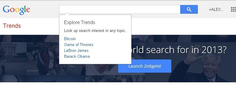 Google Trends – анализируем тренды и сезонность