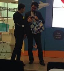 Победителем среди гостей в конкурсе от TravelPayOuts стал Артур Фаткуллин